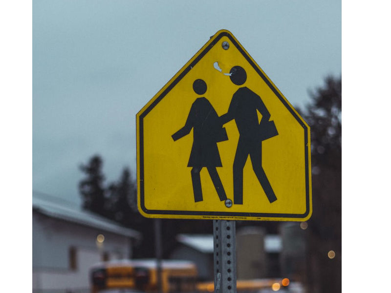 School Children Crossing Sign Sm