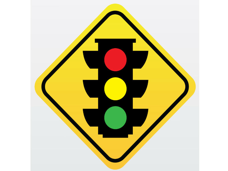 10 Most Common Warning Signs On The Road Traffic Signal Ahead