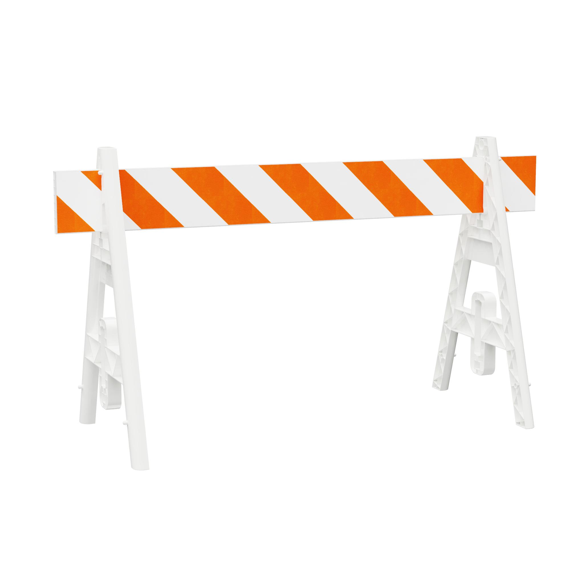 Omni A-Frame Road Barricade from Plasticade
