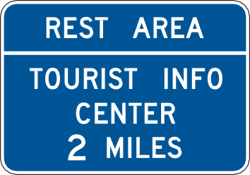 707 Rest Area Tourist Info Center 2 Miles