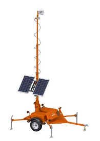 CT-2320 Trailer-Mounted Microwave Sensors