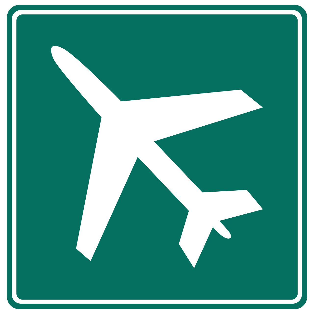 Guide Signs For Freeways & Expressways Airport
