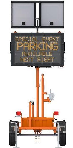 Pcms 4880 Trailer Mounted Message Sign