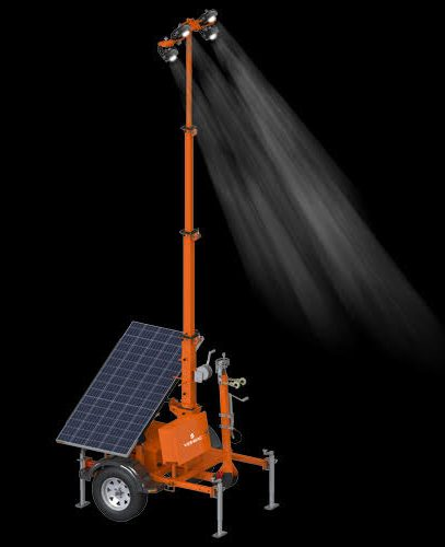 PSLT-6000 Trailer-Mounted Solar Light Tower