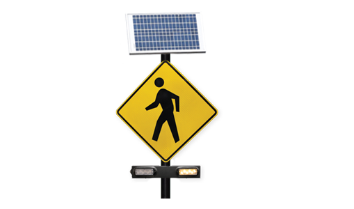 Solar Powered Flashing Beacons