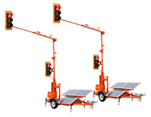 TLD-3612G3 Trailer-Mounted Traffic Signals
