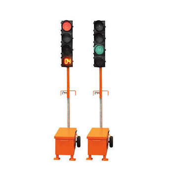 TLG-1408 / TLG-1412 Trolley-Mounted Traffic Signals