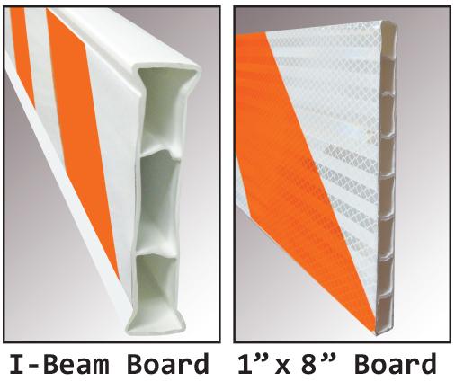A-Frame Road Barricade Board Styles