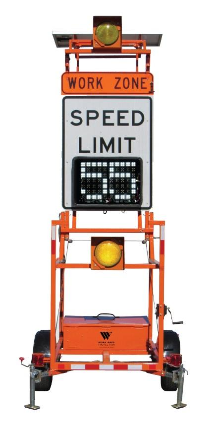 Variable Speed Limit Trailer