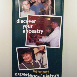 Vermont Historical Retractable Banner 001