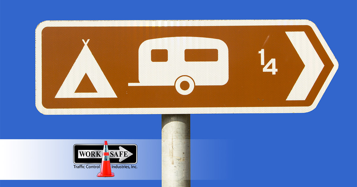 What Are Brown Road Signs Used To Indicate