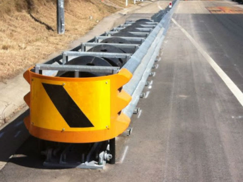 What Are Highway Impact Attenuators Used For Crash Cushion