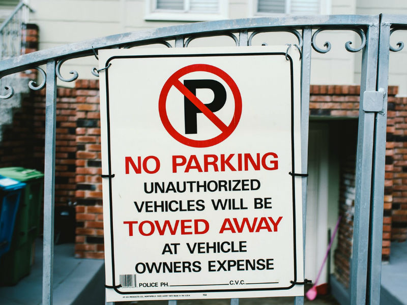 What Are The Rules For Posting 'no Parking' Signs No Parking