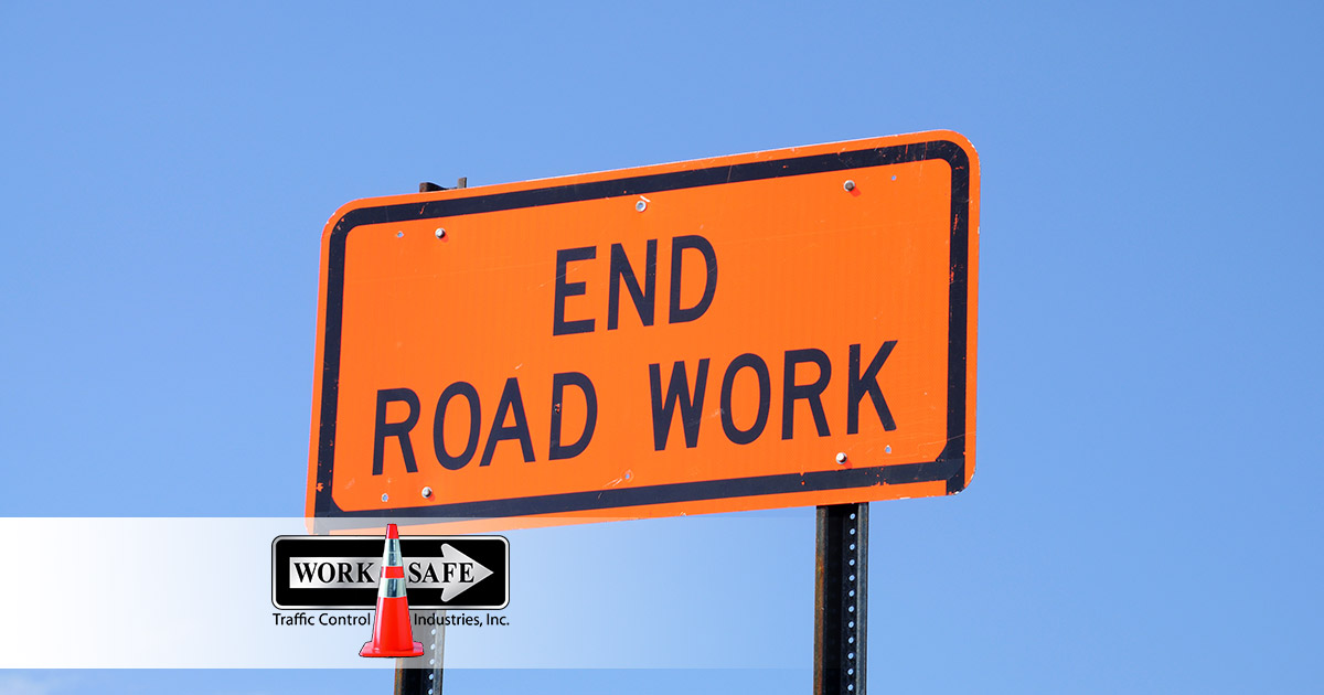 End Road Sign Featured