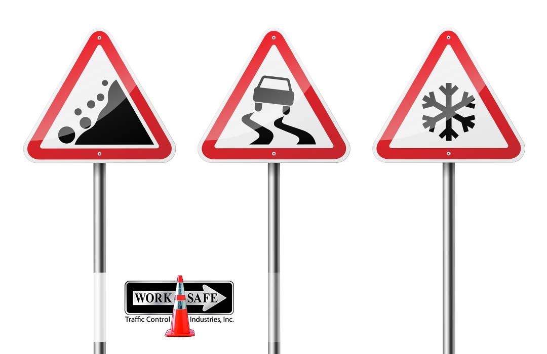 Road Hazard Signs