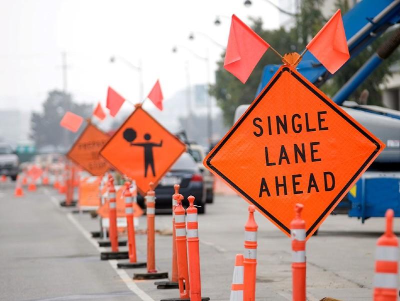 Road Work Zone
