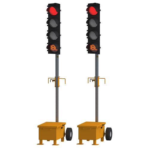 TLG 1408 Trolley Mounted Traffic Signal