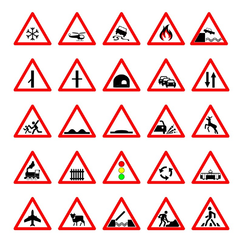 What Are Road Hazard Signs