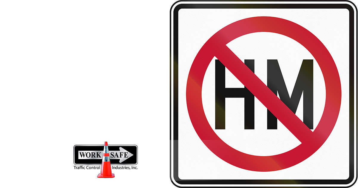 What Does No Hm Mean On A Road Sign